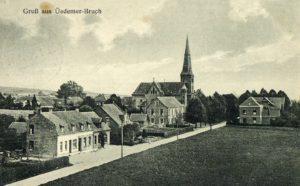 Ortskern Bruch um 1930